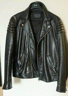 Genuine Prada Leather Jacket.  Size 42. AUTHENTIC