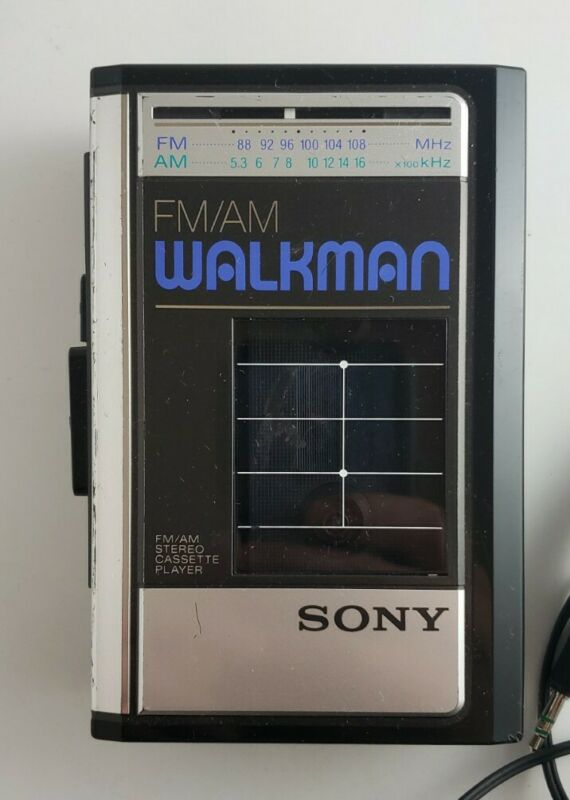 Vintage Sony WM-F41 FM/AM Cassette Walkman • Refurbished • Works Great!