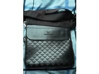 Armani pouch/man bag mint condition new