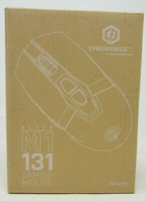 New! Cyberpower PC - Elite  M1 131 Gaming Mouse - 9 Programmable Buttons