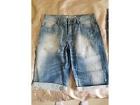 Bench denim shorts