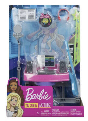 Barbie Career Places Musician Recording Studio Playset with Themed Accessories