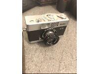 ROLLEI B35 ORIGINAL VINTAGE 35mm CAMERA + CARRY STRAP + CASE