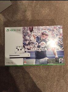Xbox One S 1TB Madden 17 bundle