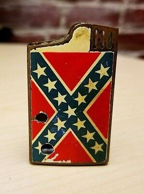 RARE Vintage CRESTLINE Confederate Colonel Reb, Musical Lighter, CASE ONLY! for sale  Henderson