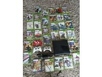 Xbox 360 with 31 games and kinect