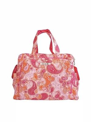 Ju-Ju-Be Be Prepared Diaper Bag Pink Paisley - Brand NWT ()