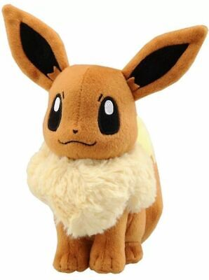 "13"" Large Size Pokemon Eevee Stuffed Animal Soft Plush Toy US Stock"
