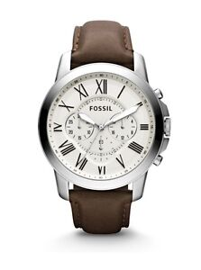 FOSSIL® GRANT LEATHER WATCH FOR MEN