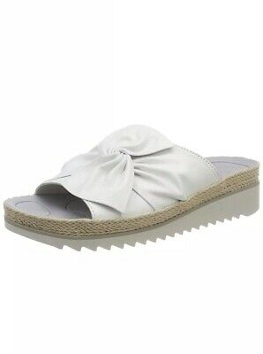 Gabor Shoes Women's Jollys Mules, White (White/Hellgrey), 6 UK (39 EU) (255) for sale  Birmingham