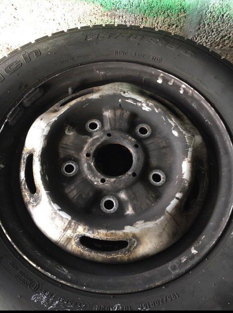 Transit wheels/tyres
