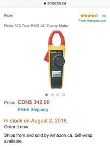 Fluke 373 AC Clamp Meter.