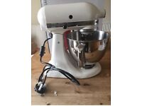 Kitchenaid artisan mixer cream