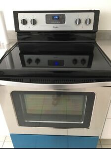 Brand NEW stainless steel whirlpool electric range