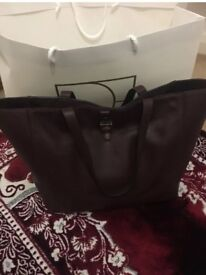 Mulberry oxblood tote