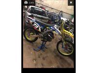 RMZ 250 2013/14 motorbike