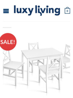 Solid pine dining table Dining Tables Gumtree Australia