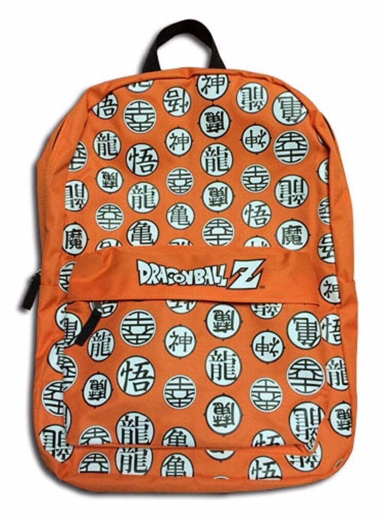 Dragon Ball Z Dbz Symbols Anime Bag Backpack Bag 699858112739 Ebay
