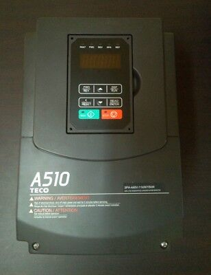 Ac Inverter Teco Vfd Drive Heavy Duty A510-4015-h3 11 K.w Hd 400 V 50 Hz