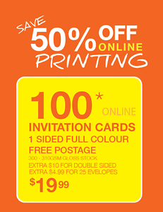 Invitation cards Florey Belconnen Area Preview