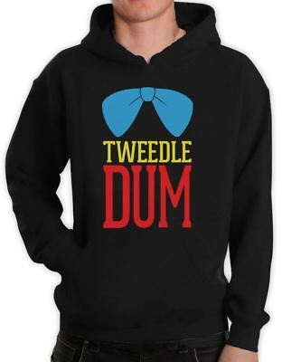 Tweedle Dum Costume Hoodie Matching Couples Halloween super cute LOVE Hooded