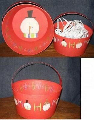 Lang Baskets-- Set of 3 Christmas Themed Decorative Baskets-Great Gift Idea ()
