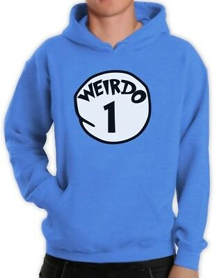 Weirdo 1 Costume Hoodie Halloween Party Matching couples Best Friends Red - Best Couples Costumes Halloween