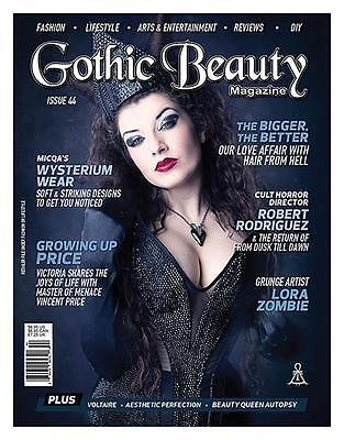 Gothic Beauty Magazine Issue 44 Music Interviews Voltaire, Aesthetic Perfection