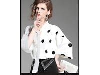 WOMEN HOT DRESS (SET SUIT SHIRT& PANTS) SIZE S M L XL 2XL FREE SHIPPING WORLDWIDE NF1247