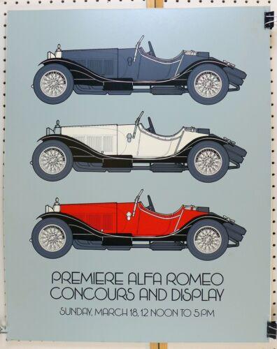 Alfa Romeo Premier Concours & Display