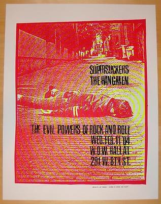 2004 Supersuckers - Eugene Silkscreen Concert Poster by Art Chantry