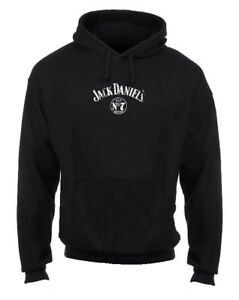 Jack Daniels Men's Pullover Barrel Hoodie Sweatshirt, Black 15261474JD-89 (M)