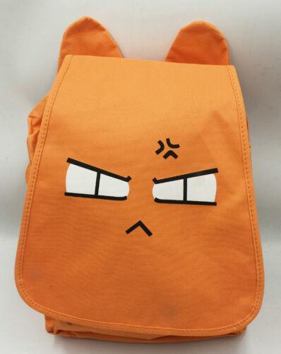 RARE Fruits Basket Sohma Kyo Backpack Anime Manga Cat Bag Toy FBBG8345
