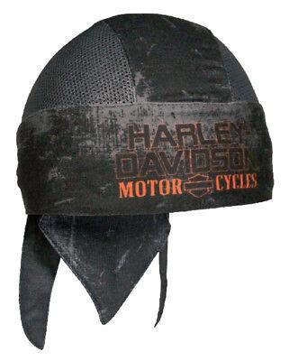 Anthracite /& Noir HW31480 Harley-Davidson Homme Velocity Perforé Bandeau