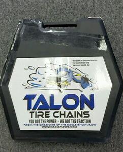 Talon atv tire chains