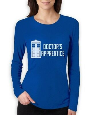 Dr's Apprentice Who Women Long Sleeve T-Shirt anniversary Dr Tadris Doctor Gift Anniversary Womens Long Sleeve