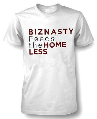 S/s Sauce (Sauce Hockey Men's BIZNASTY FEEDS THE HOMELESS S/S T-Shirt White F11BZ5555 (S))