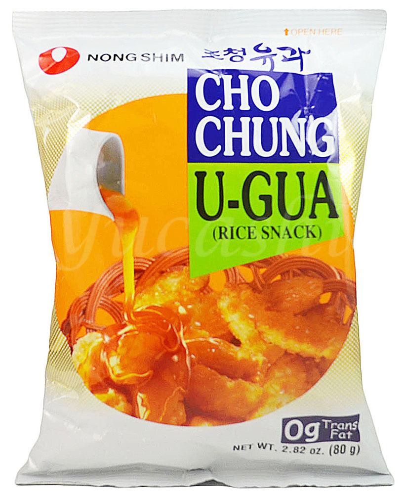 NONGSHIM Cho Chung U-Gua Sweet Rice Cracker Crisp Snack
