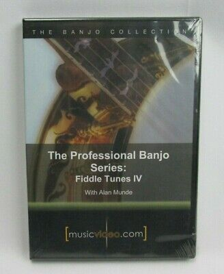 Fiddle Tunes Banjo (The Professional Banjo Series Fiddle Tunes IV Alan Munde How to Play)