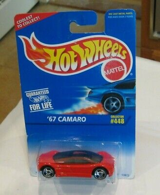 1995 HOT WHEELS ERROR~AVIS QUATTRO ON A '67 CAMARO CARD