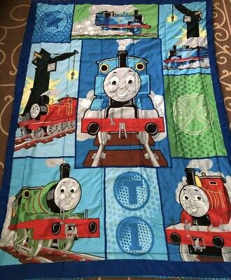 Thomas the Tank Engine & Friends Train Twin Size Reversible Comforter Blanket