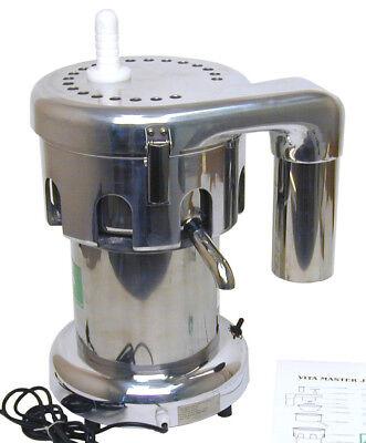 New - Vitamaster Commercial Juicer Juice Extractor 1hp Motor - 60lbs