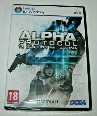 Alpha Protocol PC (edición española precintado)