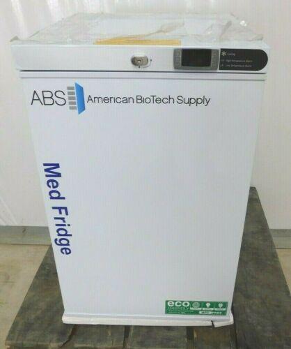 American Biotech Supply 2.5 cf Under Counter Laboratory Refrigerator Pharmacy