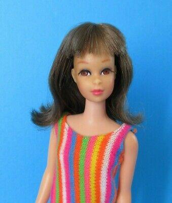 Vintage Barbie FRANCIE Doll - TNT TWIST 'N TURN Brunette Flip Hair - Swimsuit