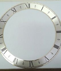 Hermle or Kieninger dial ring 212 mm skeleton for wall or mantel clocks