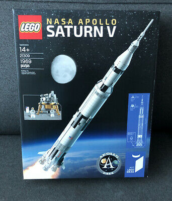 LEGO 21309 Ideas NASA Apollo Saturn V - Brand New Factory Sealed