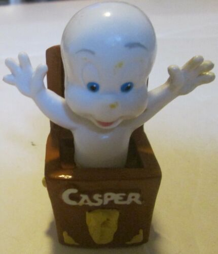 CASPER Friendly Ghost PVC figure in chest 3""
