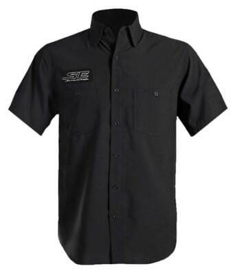 Harley-Davidson Men's Screamin' Eagle Performance Wicking Vented Shirt - Black Black Screamin Eagle