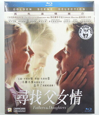 Fathers and Daughters Region A Blu-Ray (Hong Kong Version) Russell Crowe New